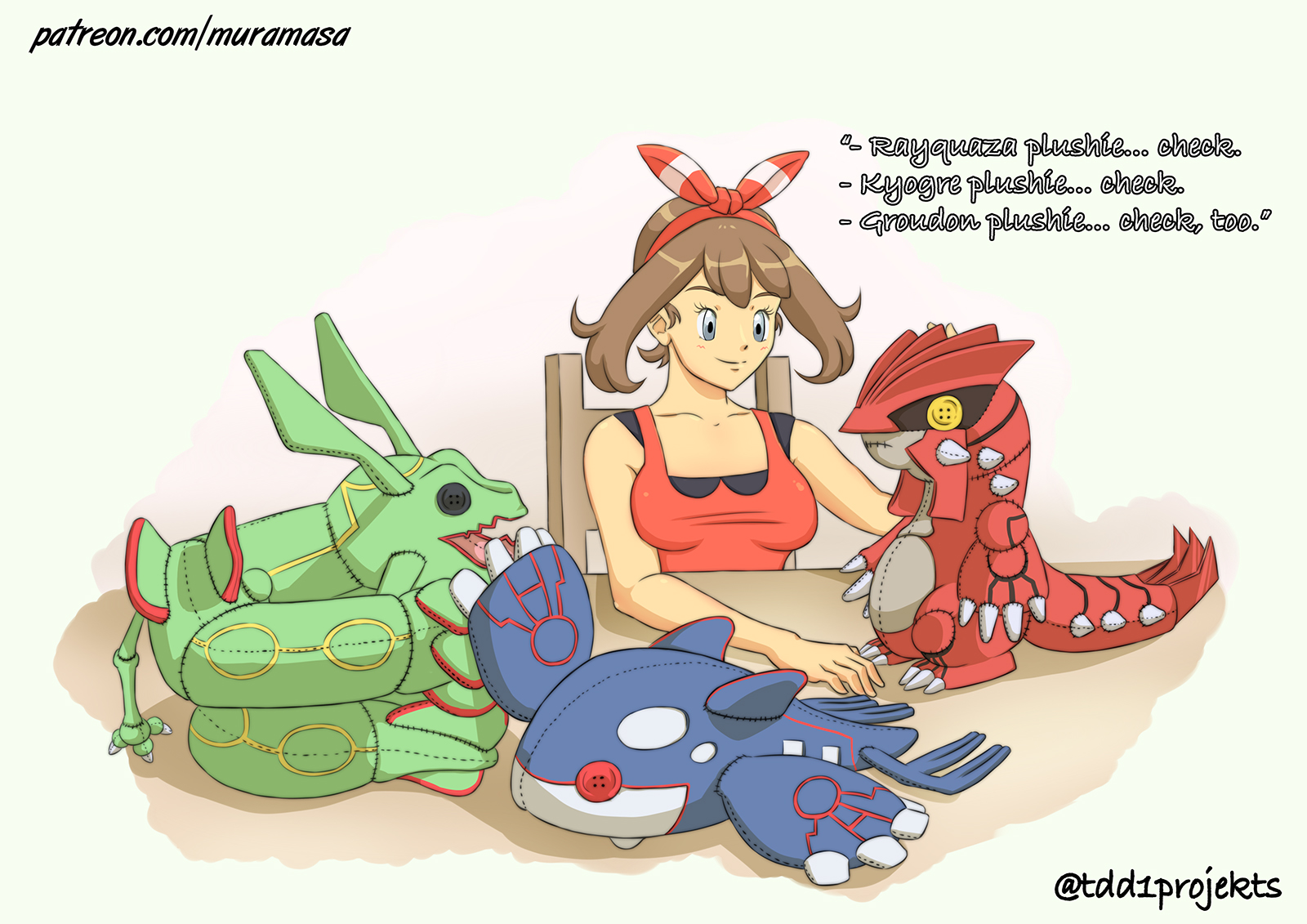 Now that Pokemon ORAS is coming...