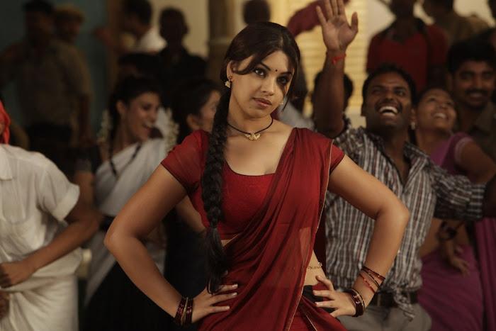 richa gangopadhyay saree from osthi movie cute stills