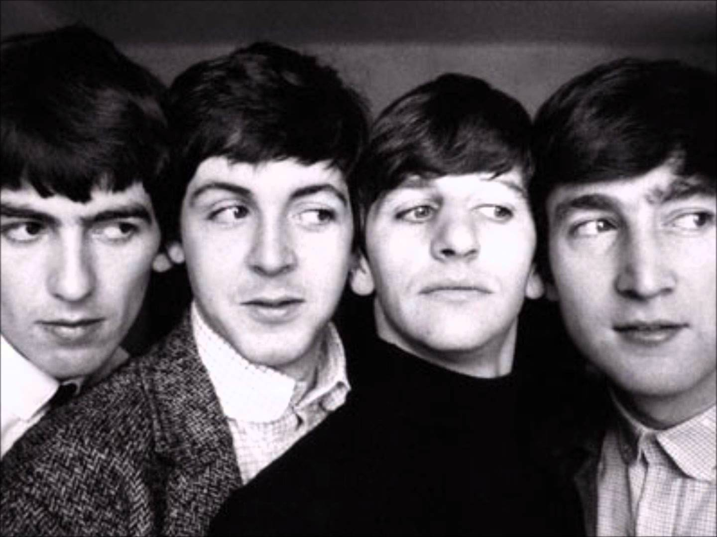 George Harrison Paul McCartney Ringo Starr And John Lennon