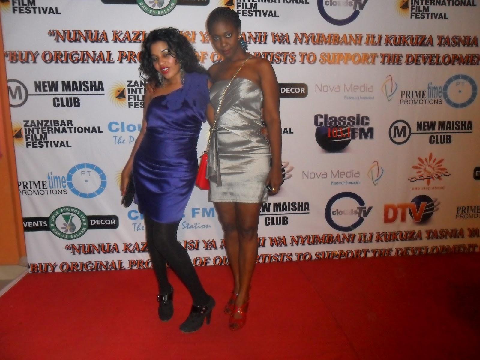 monalisa and the tanzania film industry mini ziff red carpet