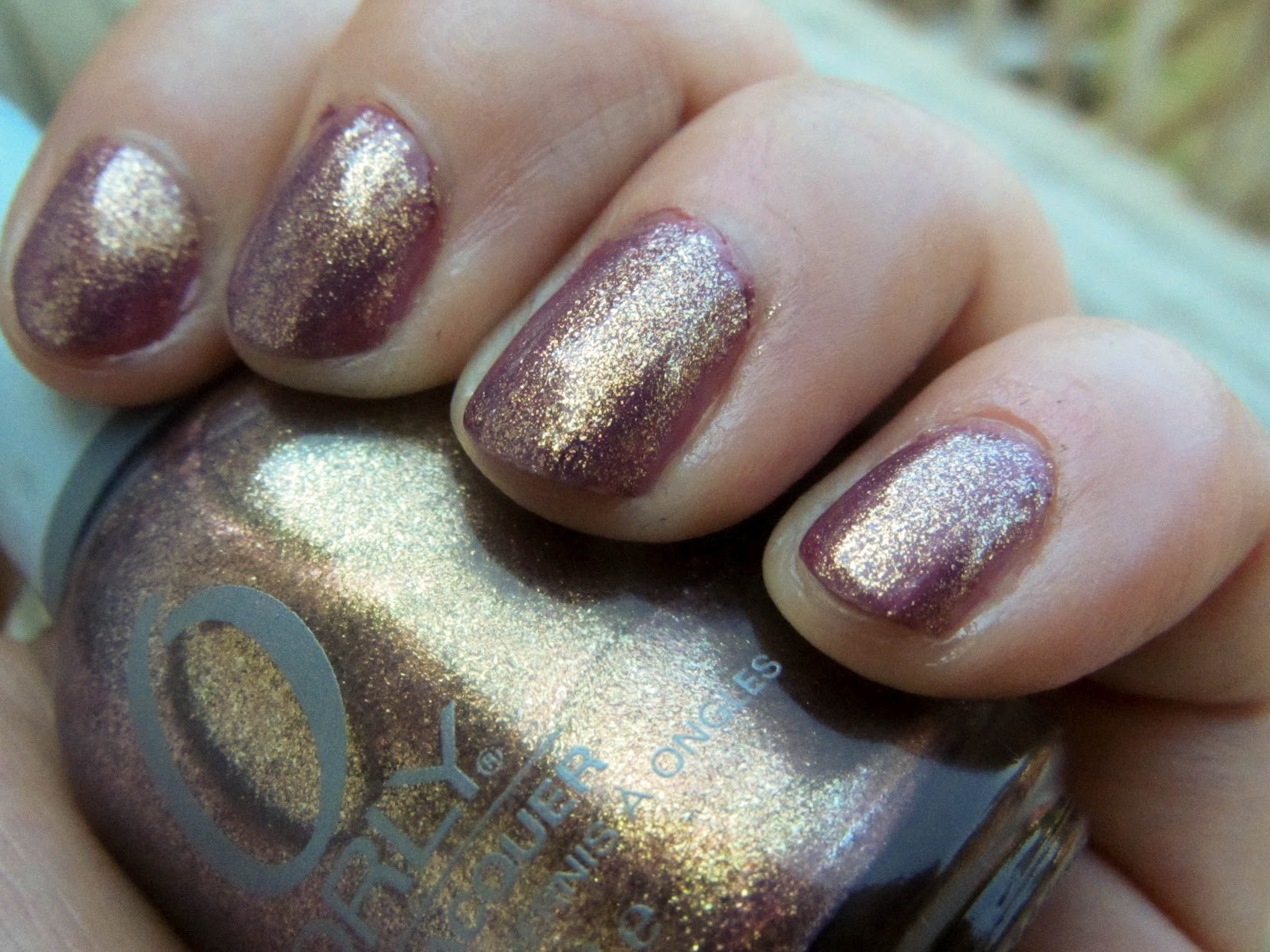 Nibble Files: A Nail Biter\'s Blog: Orly Ingenue and Alabaster Verve
