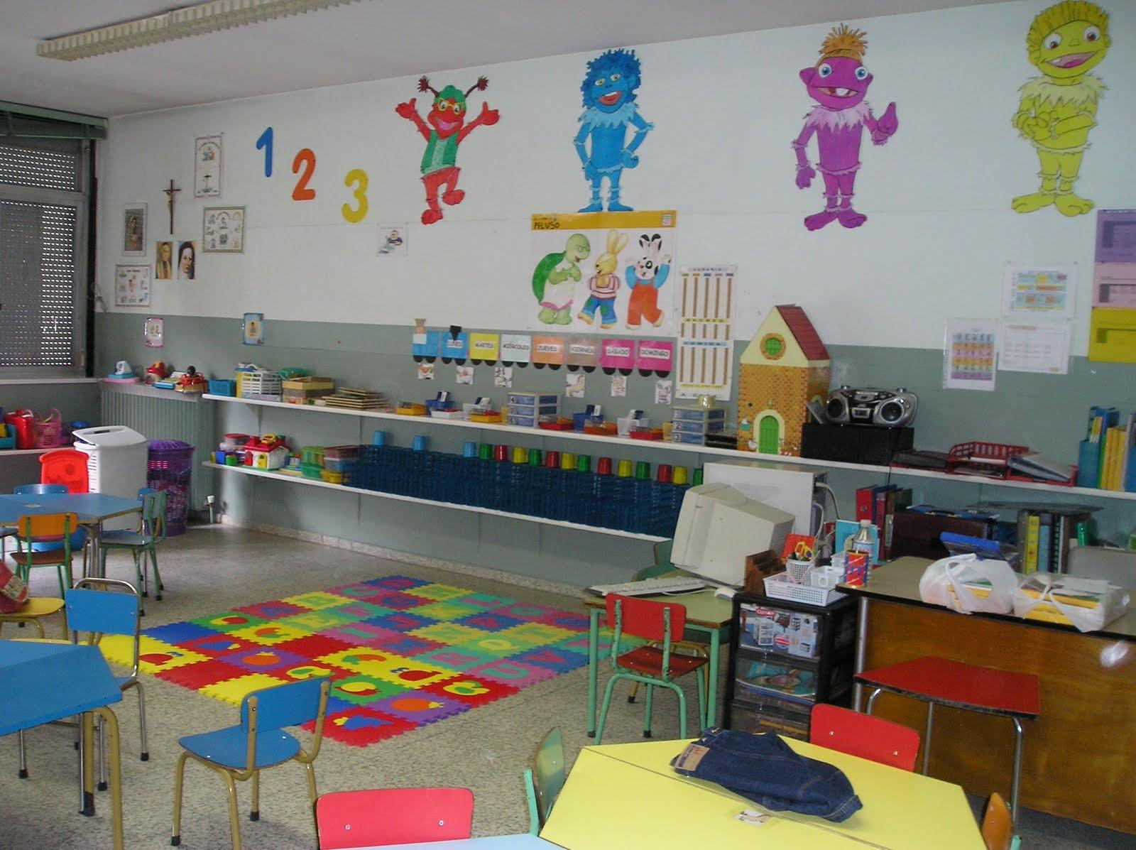 Aprende, Aprendo, Aprendemos: IMÁGENES DE AULAS DE INFANTIL