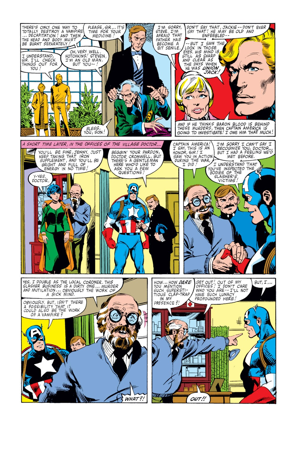 Captain America (1968) Issue #253 #168 - English 14