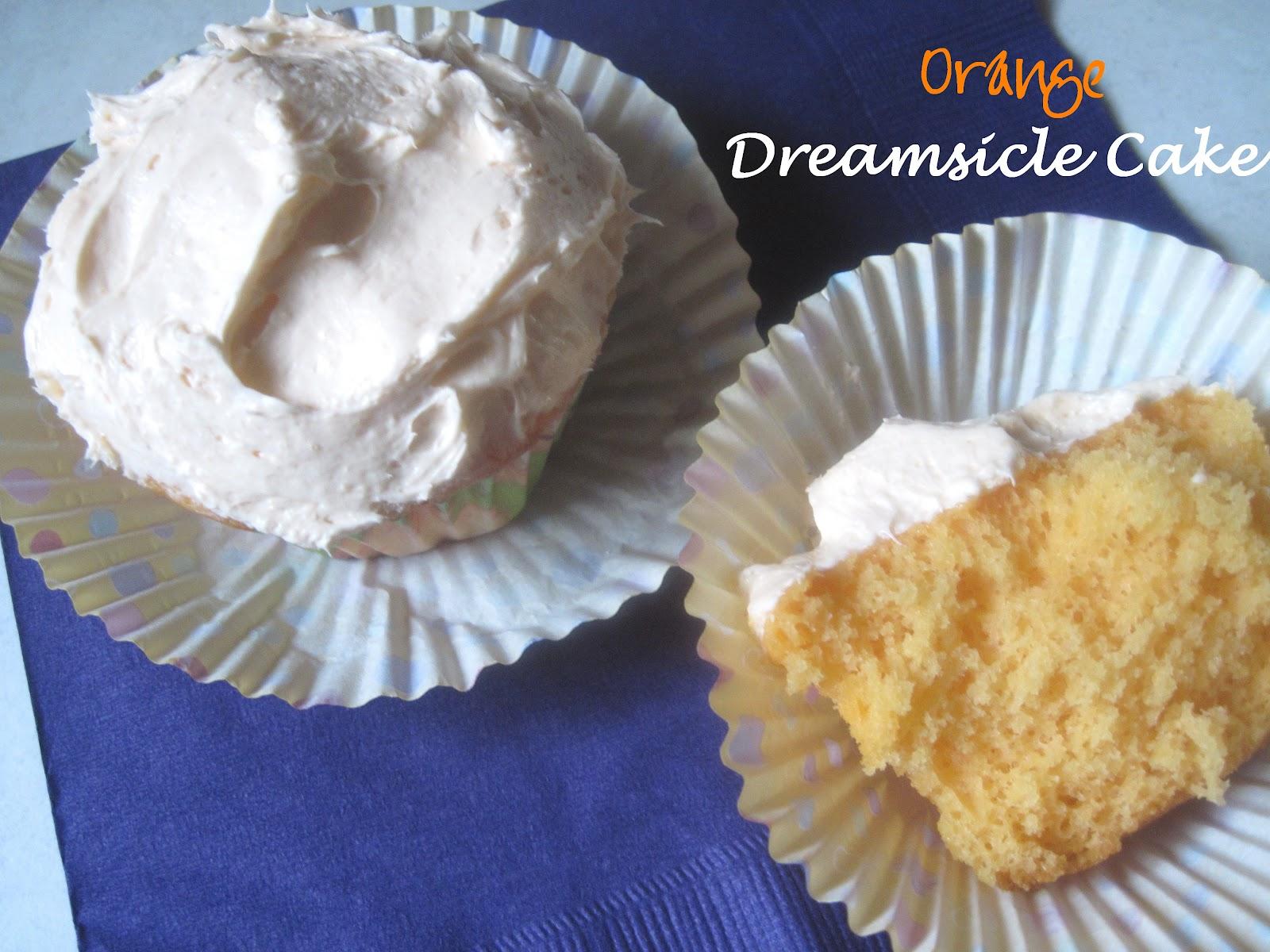 The Better Baker Orange Dreamsicle Cake