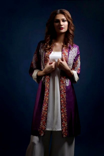 Maheen Kareem Formal Evening Dresses For Eid 2014