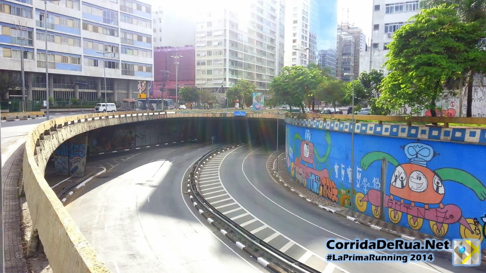 Viaduto Okuhara Koei - Próximo a Avenida Doutor Arnaldo - Corrida De rua