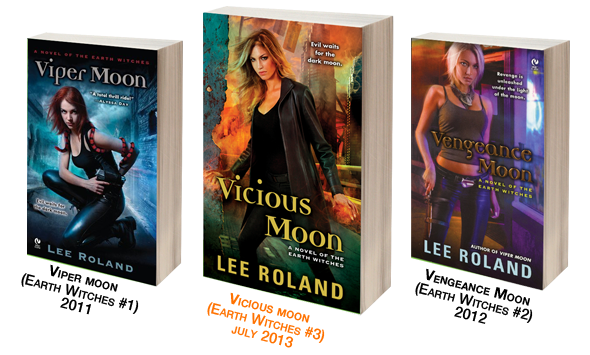 Earth Witches series by Lee Roland