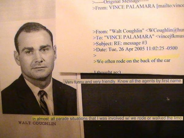 SECRET SERVICE AGENT WALT COUGHLIN