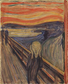 The Scream by Edvar Munch