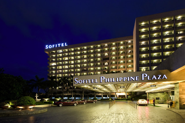 Luxury amenities in Manila Marriott Hotel, Philippines