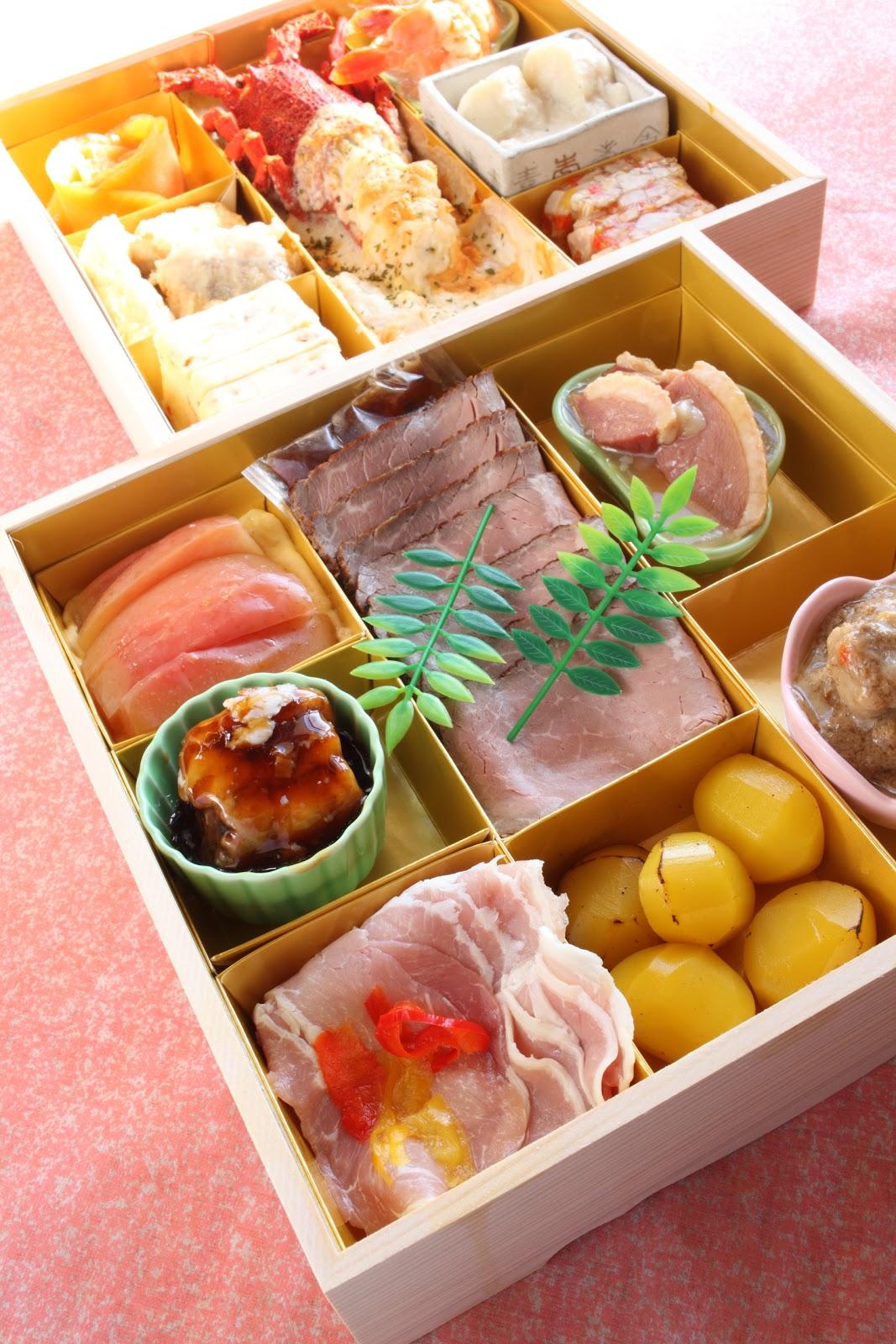 Leben in japan japanisches neujahrs essen osechi ryori tokio yokohama - Cuisine japonaise traditionnelle ...