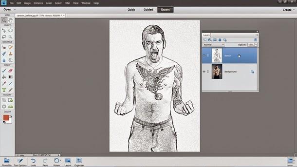 efek-sketch-photoshop