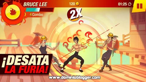 Conviertete en el mejor luchador con el juego de Bruce Lee