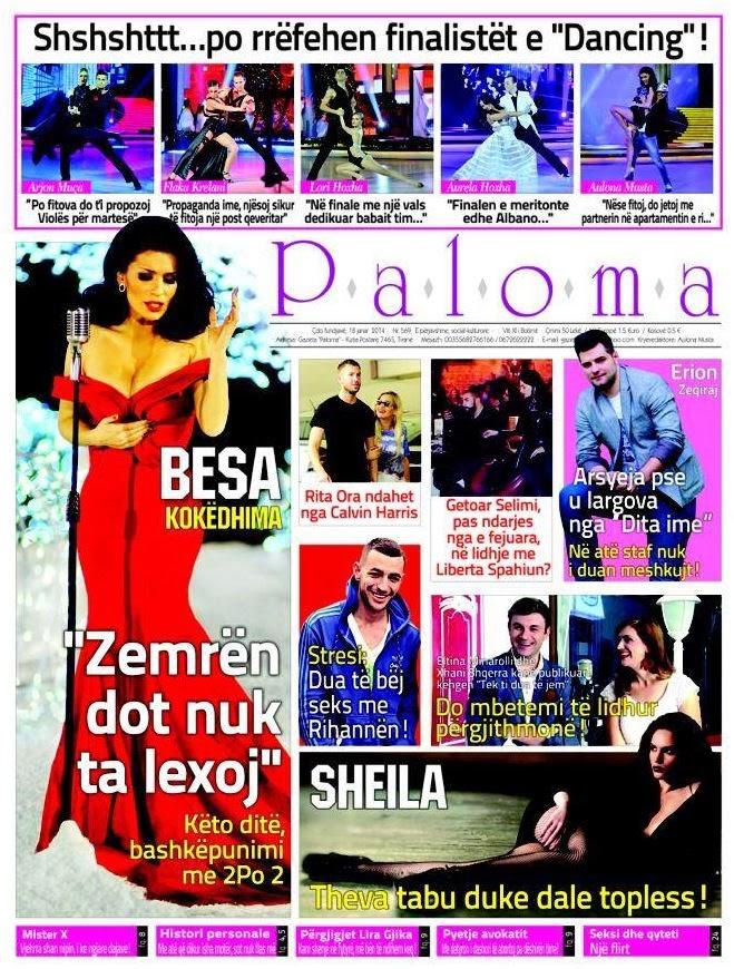Revista PALOMA - 18 Janar 2014