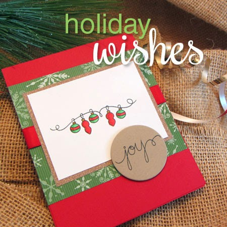 Holiday Wishes Stamp set from Newton's Nook Designs