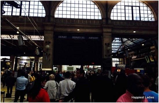 Gare du Nord station paris france