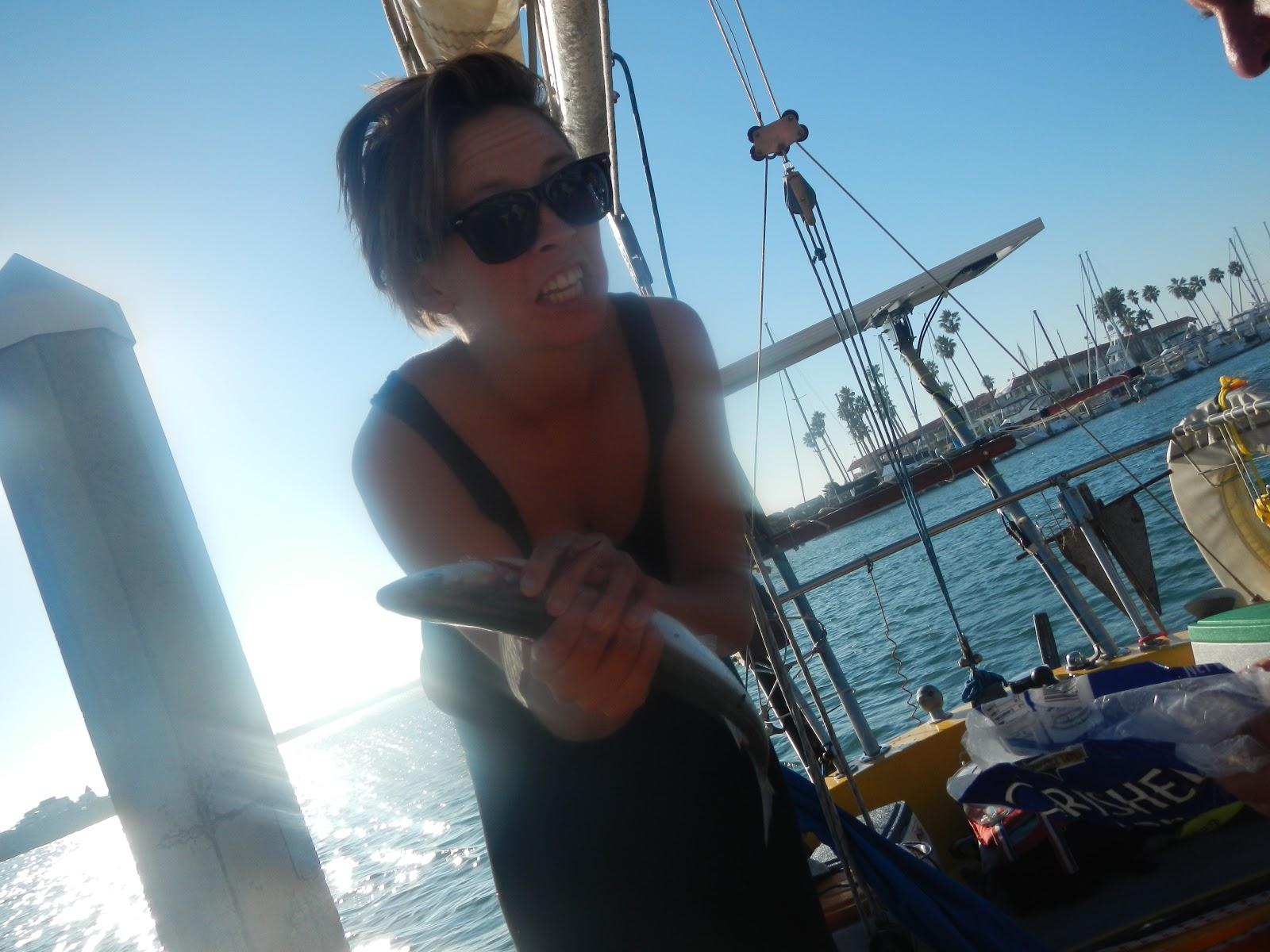 Splendid isolation dana point to oceanside for Dana point pier fishing