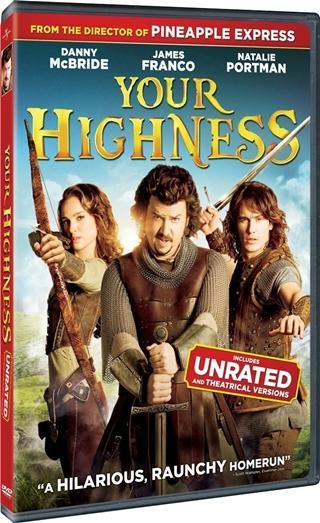 Your Highness DVD Full NTSC Español Latino