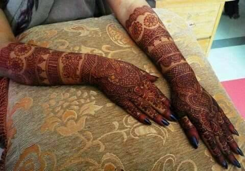 2015 bridal mehndi designs