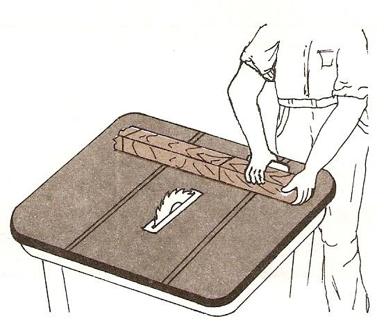 Muebles domoticos como cortar madera al trav s tronzar - Sierra de mano para madera ...