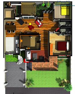 Rumah Minimalis Modern Satu Lantai