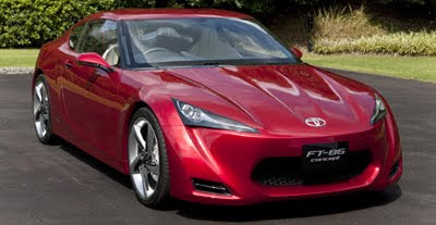 toyota ft 86 concept front side