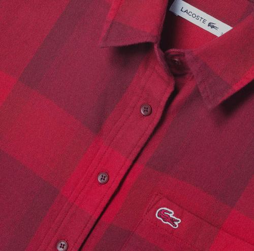 Checkered Button-Down Shirt