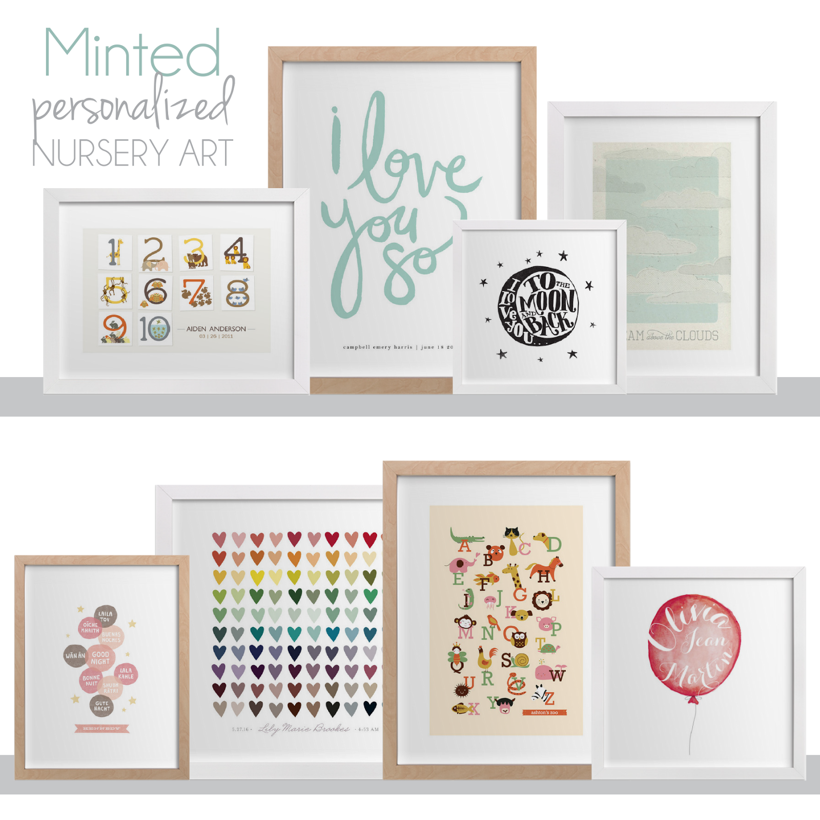 Personalized Nursery Art From Minted