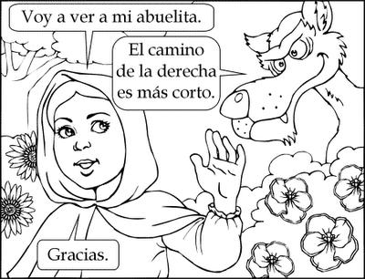Par Bola De Caperucita Y El Lobo