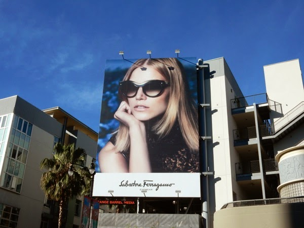 Salvatore Ferragamo Eyewear billboard