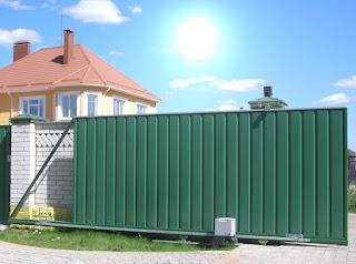 Автоматические откатные ворота. Фото 1