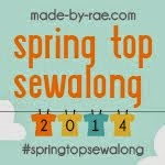 spring top sew-a-long