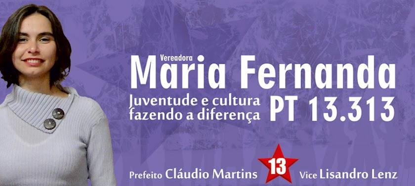 Maria Fernanda 13.313 Juventude e Cultura fazendo a diferença