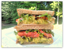 Chickpea &amp; Avocado Salad Sandwich