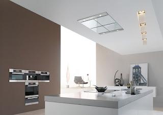 Campana de techo cocina sin obstaculos cocinas ricardo for Campanas de techo