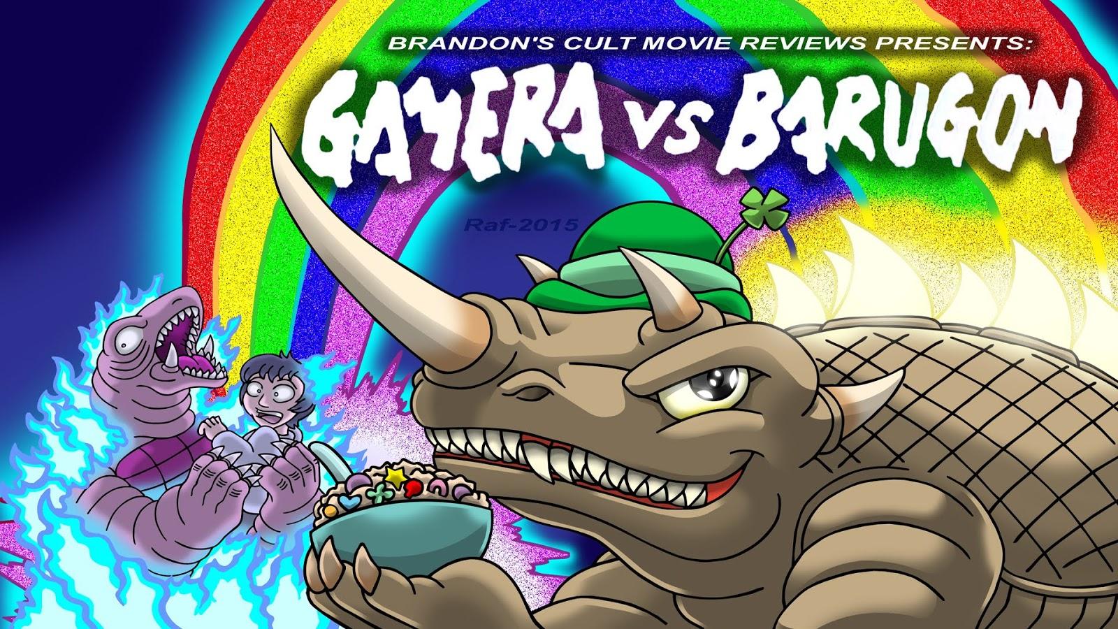 gamera vs barugon