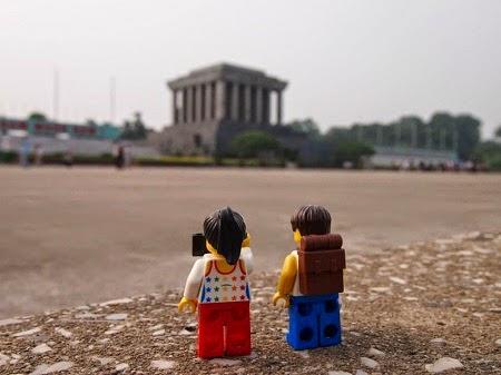 Đồ chơi Lego thăm Lăng Bác