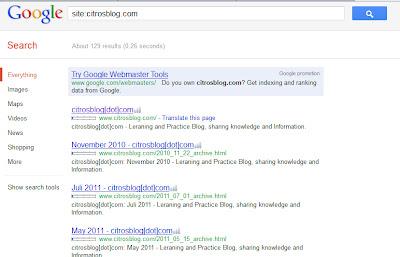 Site citro'sblog[dot]com