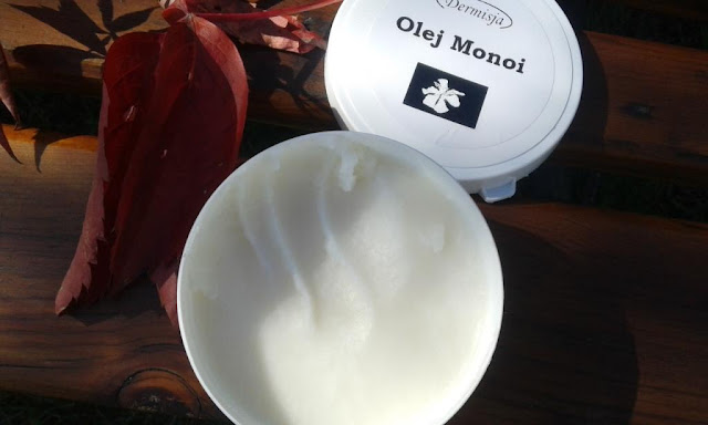Olej Monoi Dermisja - kompleksowa pielęgnacja ciała z rejonów wysp Tahiti