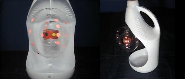 hacer maqueta del atomo con reciclaje
