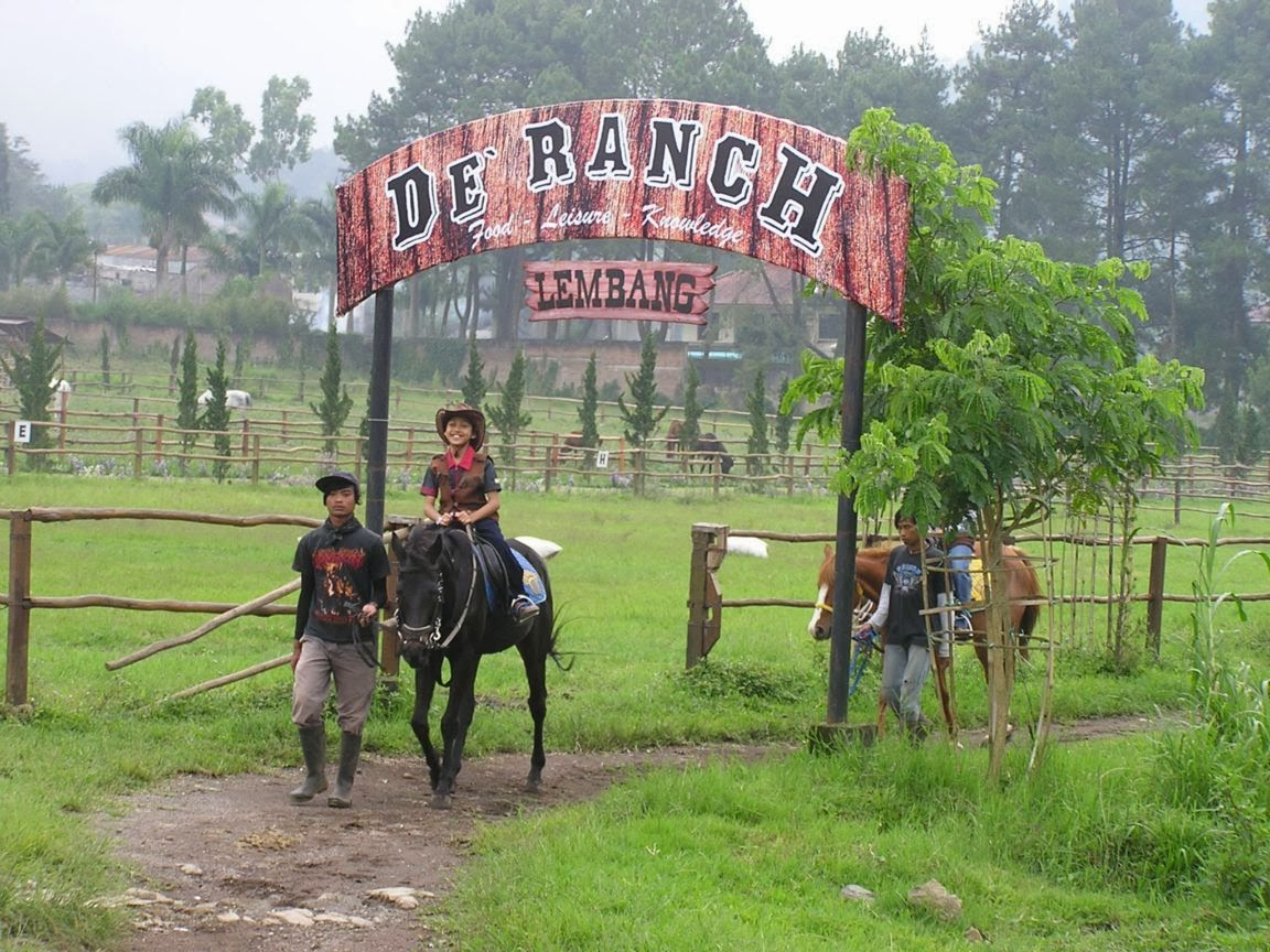 De 'Ranch Lembang Bandung: Wisata Ala Cowboy