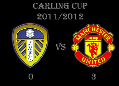 Leeds United vs Manchester United Result Carling Cup
