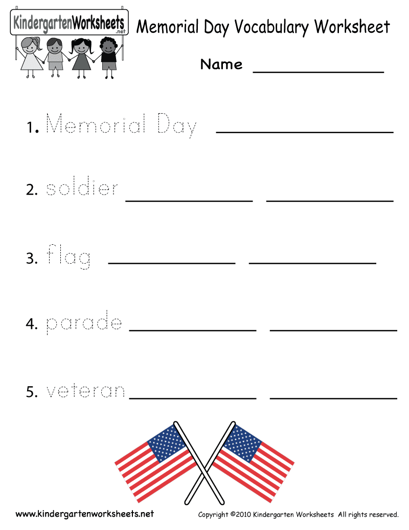 This is a graphic of Selective Memorial Day Printable Activities