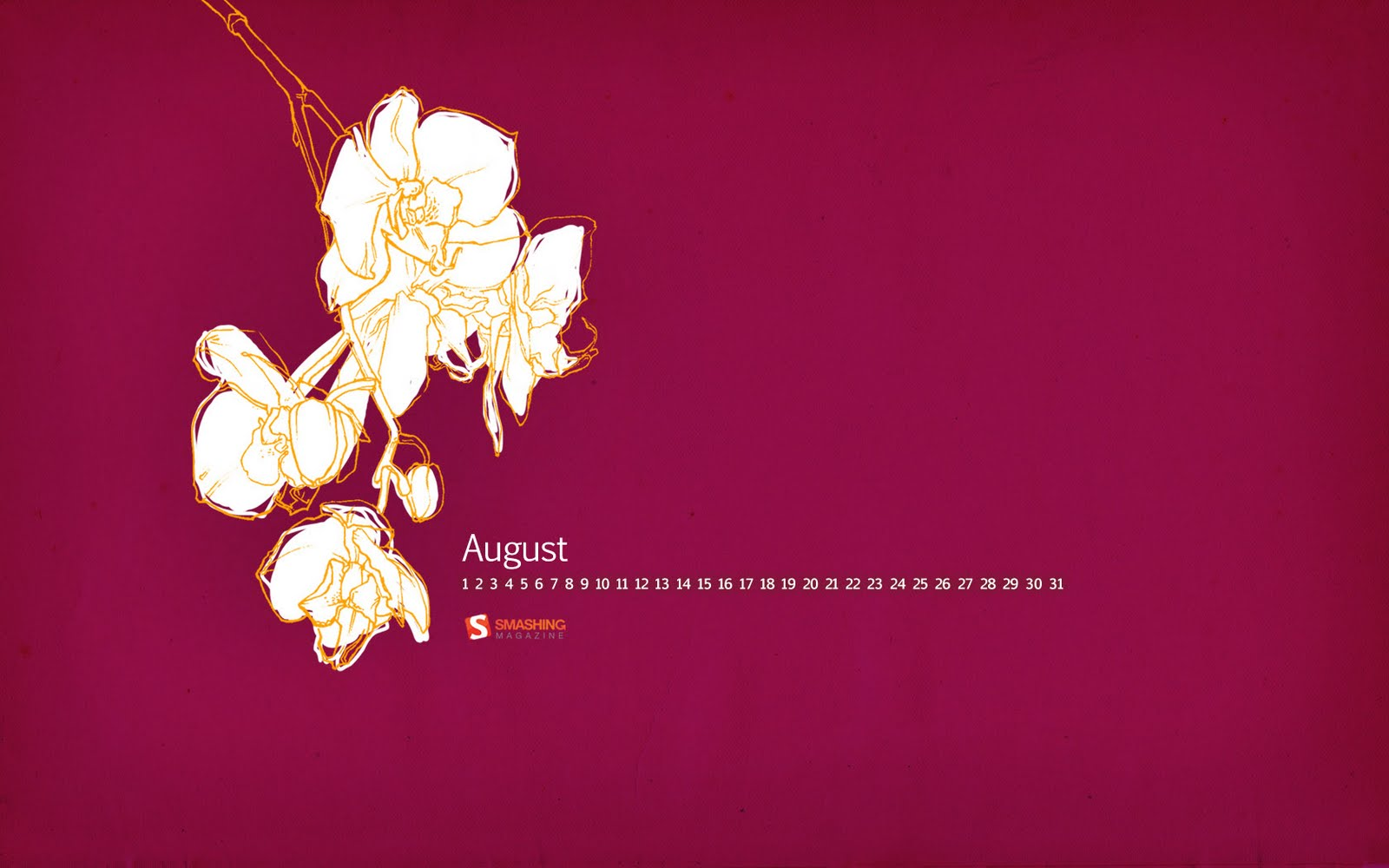 http://2.bp.blogspot.com/-LE1IDAxOeoQ/TkrneXLs_hI/AAAAAAAAAns/Xd6FuLBye1E/s1600/desktop+wall+paper+calendar+smashing+magazine+orchid+august+2011.jpg