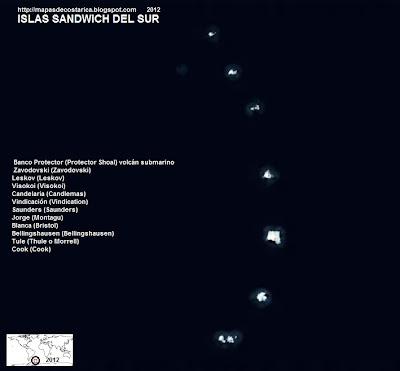 Islas Sandwich del Sur (Bing) 2012