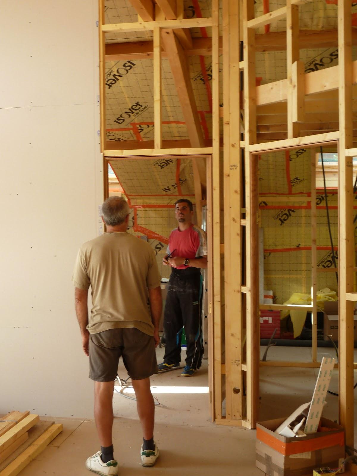 la maison de meltemetpetau allez c 39 est maintenant le tour du placo. Black Bedroom Furniture Sets. Home Design Ideas
