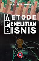 toko buku rahma: buku METODE PENELITIAN BISNIS, pengarang sugiyono, penerbit alfabeta