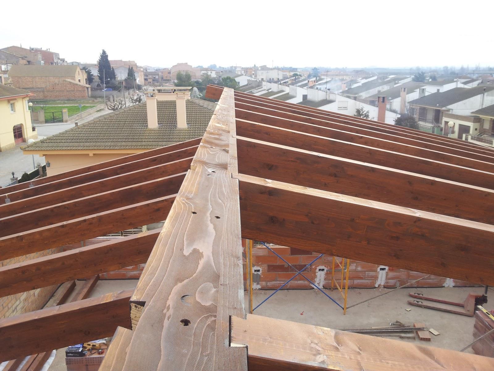 Estructuras de madera cutecma estructuras de madera frente a otros materiales - Estructura madera laminada ...