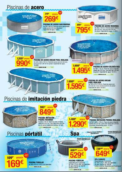 Catalogo leroy merlin oferta de piscinas verano 2013 for Piscinas leroy merlin