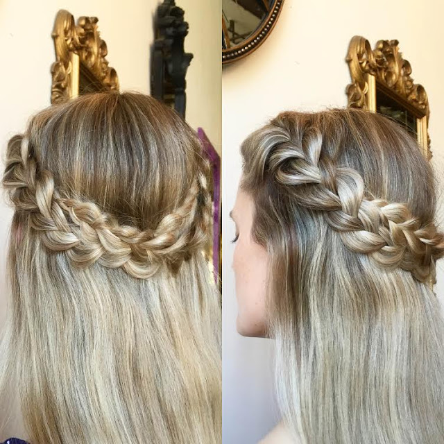 bridal hair sacramento wedding braids Christi Reynolds Beauty